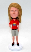 Custom bobblehead for rugby coach