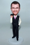 Custom bobbleheads casual businessman