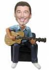 Guitar man Custom bobbleheads