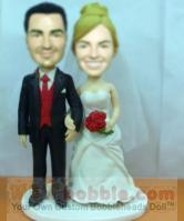 Bride and Groom Bobbleheads BW35