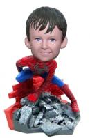Custom Spiderman Boy bobblehead