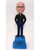 Custom bobblehead Trophy gift for manager