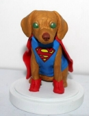Super Dog bobblehead