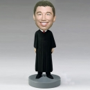 Male Judge custom bobbleheads