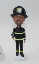 Custom bobblehead fireman firefighter