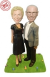 60th wedding anniversary gift bobbleheads