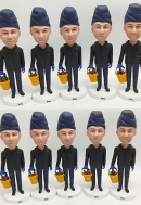 10 custom bobbleheads bullk order same face Team/Family