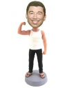 Muscle guys bobblehead