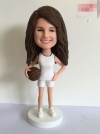 Basketball girl custom bobbleheads