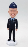 Custom bobblehead doll military officer