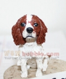 Custom Puppy bobbleheads from photo