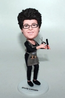 Custom hairdresser bobbleheads