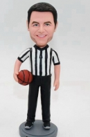 Custom bobblehead Basketball Referee
