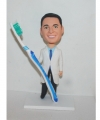 Male dentist custom bobbleheads