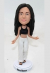 Custom bobblehead - yoga instructor