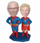 Superman bobbleheads For couple