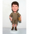Custom delivery man bobblehead