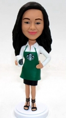 Custom bobblehead Starburk girl