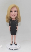 Custom Bobblehead with Black Dress and Heels