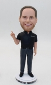Custom bobbleheads for president boss
