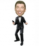 Custom James Bond bobblehead