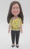 Custom Bobbleheads Woman