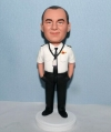 Custom bobbleheads Airplane Captain