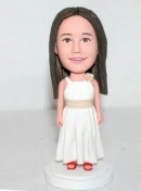 Flower girl bobbleheads BB42