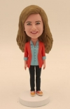 Custom bobbleheads for girl friend