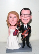 bobblehead cake toppers- 10881