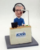 Custom bobbleheads Radio host