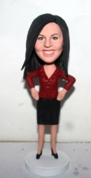 Ccustom bobbleheads Office Woman