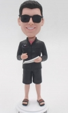 Custom Bobbleheads gift for Tennis Coach