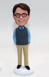 Custom bobblehead doll gift for Dad