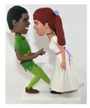 Peter Pan custom wedding cake toppers