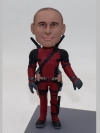 Custom deadpool bobbleheads