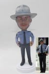 Custom Policeman Bobblehead From Photo
