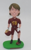 Personalized football Bobblehead