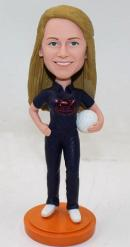 Custom sports bobblehead - volleyball