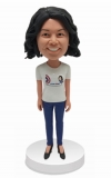Custom bobblehead Mother's day gift