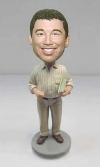Custom bobblehead Professor teacher