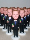 Set of 200 Identical custom bobbleheads