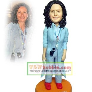 Custom Bobbleheads- doctress- 105051