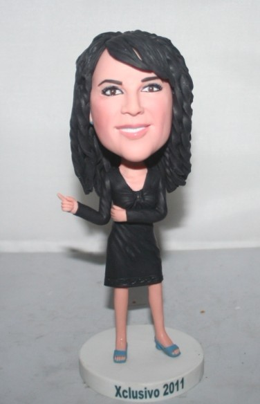 Custom bobbleheads fashion lady