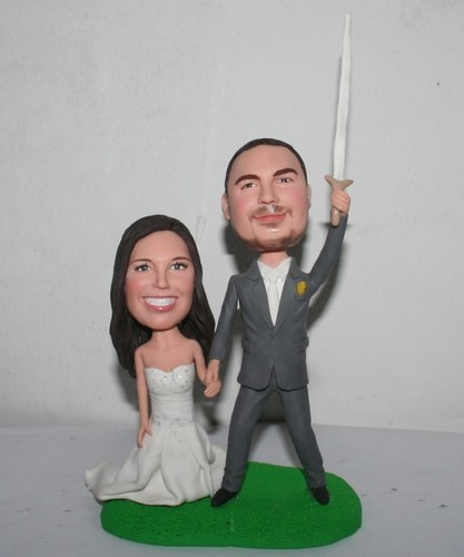 Star War Wedding bobbleheads 1120