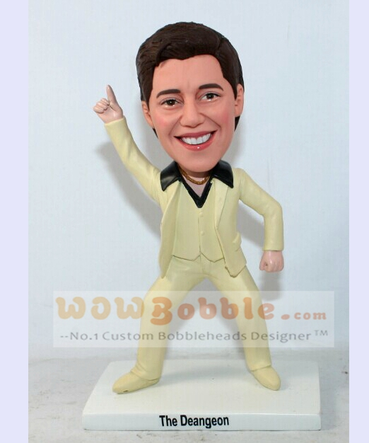 Bobblehead cake toppers for wedding- 10515