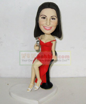 custom bobbleheads- sexy lady- 10604