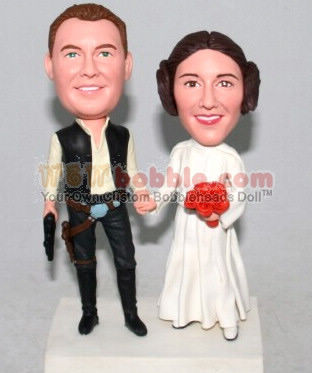 Star Wars Bobbleheads Cake Toppers 10631