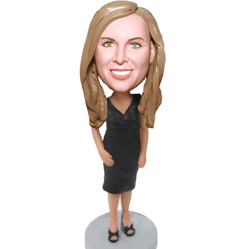 Custom Lady bobblehead