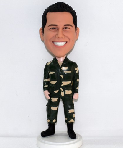 Camouflage uniform Bobblehead